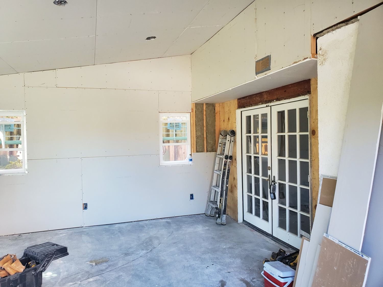Inside the addition