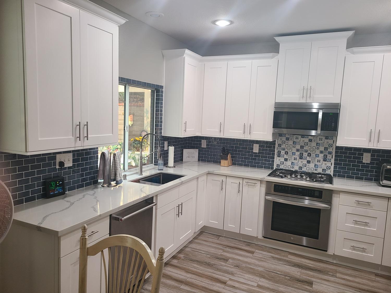 Santa Clarita-Kitchen remodel-White shaker style