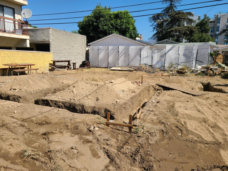 Glendale addition-Foundation preperation