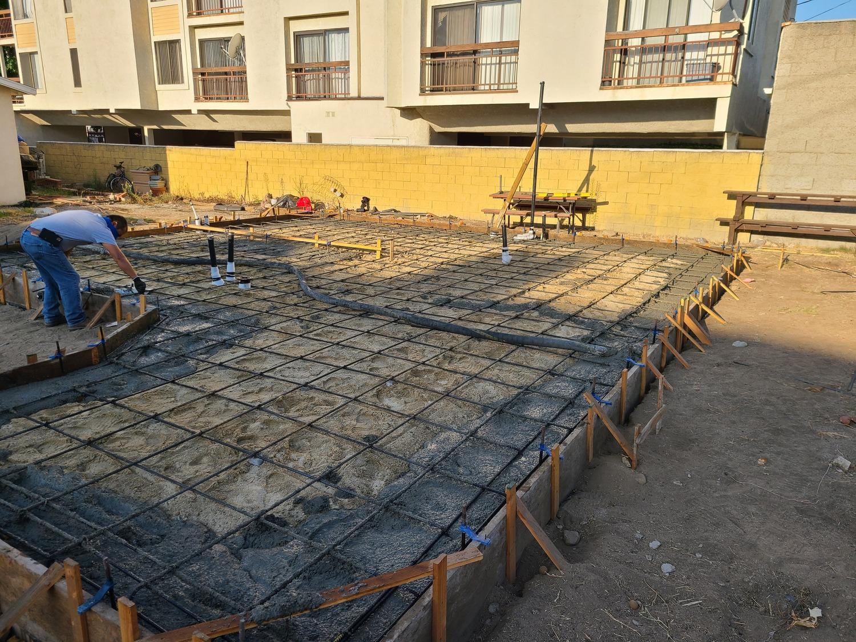 Glendale addition-Rebar for foundation